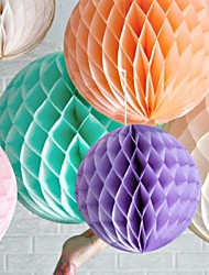 16 Inch Honeycomb Tissue Paper Flower Ball (More Colors)