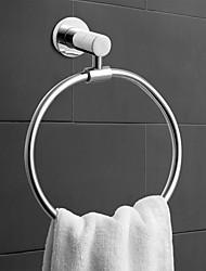 levne -Tyč na ručníky Moderní Mosaz 1ks - Koupelnové / Hotelová koupel kroužek na ručník Nástěnná montáž