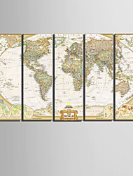 Canvas Set Classic Realism,Five Panels Vertical Print Wall Decor For Home Decoration