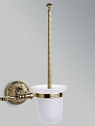 """Недорогие -Держатель для ёршика Карбонитрид титана Крепление на стену 380 x 125 x 125mm (14.9 x 4.92 x 4.92"""") Медь Античный"""