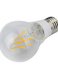 E26/E27 LED Globe Bulbs 4 leds COB Decorative Warm White 400lm 3000K AC 85-265V