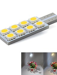 cheap -T10 8x5050SMD 0.5W Led Car Automotive light Interior Side Mark License Plate Lamp
