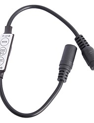 Недорогие -мини контроллер кабель для одного цвета 5050 3258 SMD светодиодные ленты света (DC12-24V)