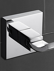 Robe Hook / Chrome Brass /Contemporary