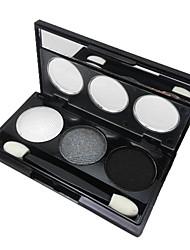 3 Øjenskyggepalette Øjenskygge palet Pudder Normal Daglig makeup / Festmakeup