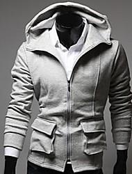 Men's Fashion Slim Zipper Hoodie Coat