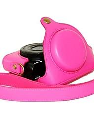 Недорогие -dengpin® кожаный чехол камера с плечевым ремнем шаблон личи для Sony DSC-rx100m III RX100 RX100 II