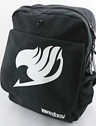 Tasche Inspiriert von Fairy Tail Cosplay Anime Cosplay Accessoires Tasche / Rucksack Schwarz  Leinwand / Nylon Mann