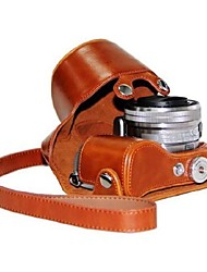 economico -pelle dengpin® copertura del sacchetto custodia protettiva fotocamera modello a 7 colori con tracolla per Sony NEX-5r nex-5t 5t 5r