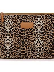 "10,1 ""брезент леопарда ноутбук рукава виброустойчиво чехол для Samsung или IPad"