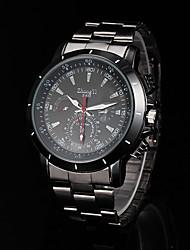 baratos -relógio da liga preta relógio de vestido dos homens