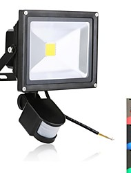 cheap -1900 lm LED Floodlight 1 leds High Power LED Sensor Green Blue Red AC 85-265V