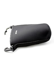 Water Resistant Neoprene Soft Camera Lens Pouch Case Lens Bag for Canon Nikon Sony Pentax Olympus