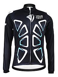 cheap -Kooplus Cycling Jersey Men's Women's Unisex Long Sleeves Bike Jersey Top Winter Fleece Bike Wear Thermal / Warm Windproof Fleece Lining
