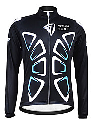 Kooplus Homens Mulheres Unisexo Manga Longa Camisa para Ciclismo Moto Camisa/Roupas Para Esporte # 6 # 7 # 8 # 9 # 10---Térmico/Quente,