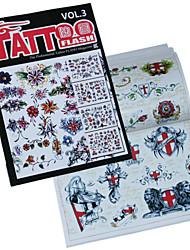 cheap -Flowers Serie Tattoo Pattern Book