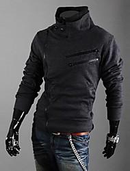 billige -Herre Klassisk & Tidløs Sweatshirt - Ensfarvet, Ren Farve