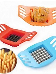 cheap -Potato Chipper Creative Potato Bar Cutting Machine Cut Fries/French Fries Tool Color Blue