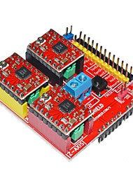 cheap -V2 3D Printer Driver Expansion Board for Arduino - Red