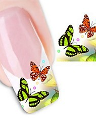Water Transfer Printing Nail Stickers XF1320