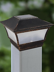 cheap -Aluminum Solar Light Post Cap And Rechargeable Batteries Deck Lamp