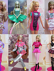 Princess Costumes For Barbie Doll Dresses For Girl's Doll Toy