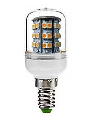 180 lm E14 Lâmpadas Espiga T 48 leds SMD 3528 Decorativa Branco Quente AC 220-240V