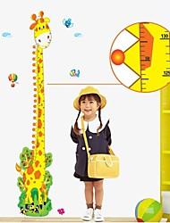 настенные наклейки наклейки, жираф высота линейка наклейки росписи декора дома пвх стеновые