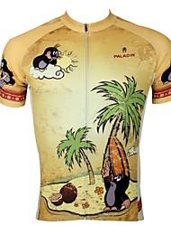 economico -ILPALADINO Per uomo Manica corta Maglia da ciclismo Animali / Cartoni animati Bicicletta Maglietta / Maglia, Asciugatura rapida, Resistente ai raggi UV, Traspirante