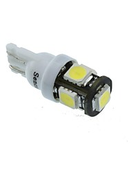 cheap -T10 Car Motorcycle White 2.5W 6500-7000 Reading Light License Plate Light