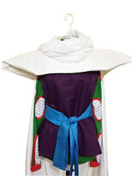 cheap -Inspired by Dragon Ball Piccolo Anime Cosplay Costumes Cosplay Suits Patchwork Sleeveless Leotard / Onesie / Top / Belt For Men's Halloween Costumes