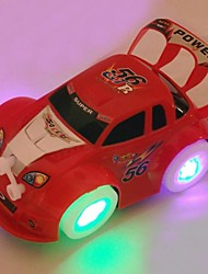 Недорогие -красивые мигающие огни и музыка электрический автомобиль игрушка (случайный цвет)