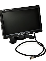 "Utility 7"" Color TFT LCD Screen Car Rear View Backup Parking Mirror Monitor + Night Vision Camera Car Security Tool Kit"