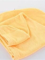 Недорогие -Удобное полотенце для волос (случайный цвет)