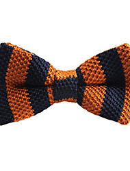 Unisex Vintage/Party/Work/Casual Bow Tie , Knitwear