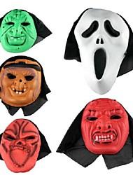 partito del vestito operato di Halloween maschera (colore casuale)