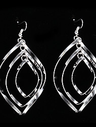 cheap -Women's Drop Earrings Costume Jewelry Silver Sterling Silver Alloy Jewelry For Party