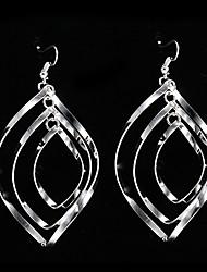 cheap -Women's Drop Earrings - Sterling Silver, Silver Silver For Party