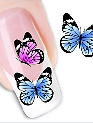 Water Transfer Printing Nail Stickers XF1212