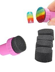 abordables -5pcs Nail Art Tool arte de uñas Manicura pedicura Esponja / El plastico Clásico Diario