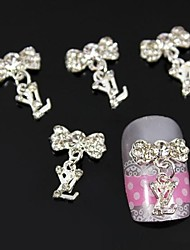 cheap -10pcs Jewelry Pendant Accessories Alloy DIY Stick Nail Art Decoration