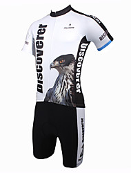 cheap -ILPALADINO Cycling Jersey with Shorts Men's Short Sleeves Bike Clothing Suits Quick Dry Ultraviolet Resistant Breathable Polyester