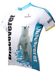 economico -ILPALADINO Per uomo Manica corta Maglia da ciclismo Cartoni animati / Animali Bicicletta Maglietta / Maglia, Asciugatura rapida,