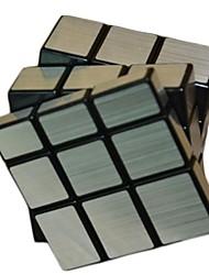 スムーズ伸線銀のステッカー3順特殊形状ミラーインテリジェンスマジックキューブ