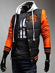 cheap -Men's New Winter Classic SF Logo Personality Hooded Baseball Uniform Coat