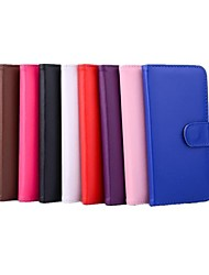 cheap -Case For Apple iPhone X / iPhone 8 / iPhone 6 Plus Wallet / Card Holder / with Stand Full Body Cases Solid Colored Hard PU Leather for iPhone X / iPhone 8 Plus / iPhone 8
