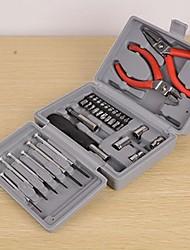 famille potable pinces doubles ensemble d'outils boîte de téléphone / ordinateur réparé