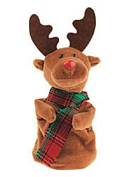Недорогие -электрическая плюшевые музыки коробка Рождественский олень танца подарков