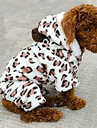 baratos -Gato Cachorro Camisola com Capuz Roupas para Cães Animal Preto Lã Polar Ocasiões Especiais Para animais de estimação Fantasias Casamento