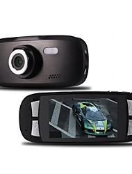 economico -480p 848 x 480 HD 1280 x 720 Full HD 1920 x 1080 Automobile DVR 170 Gradi CMOS da 5.0 MP 2.7inch Dash Cam con 2 LED a infrarossi